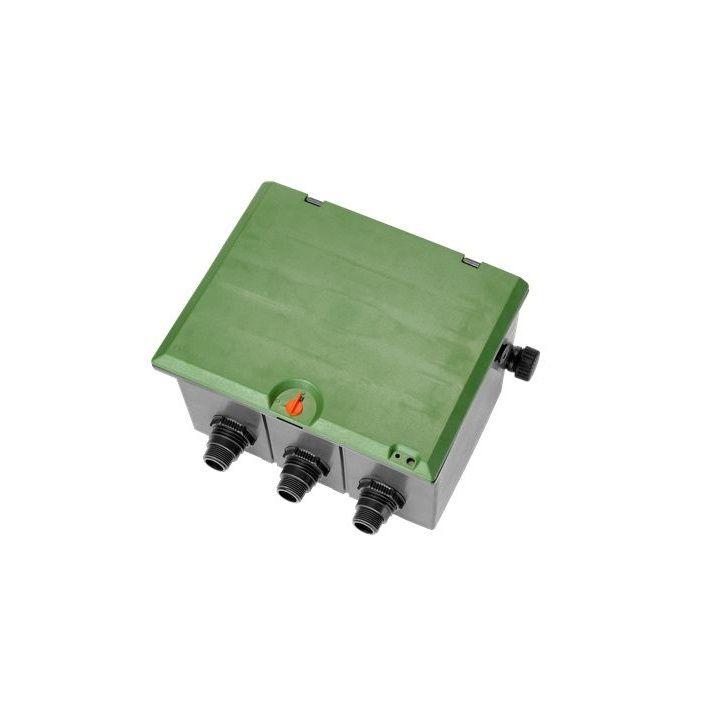 GARDENA Защитна кутия за воден клапан - 3 клапана 9 V или 24 V