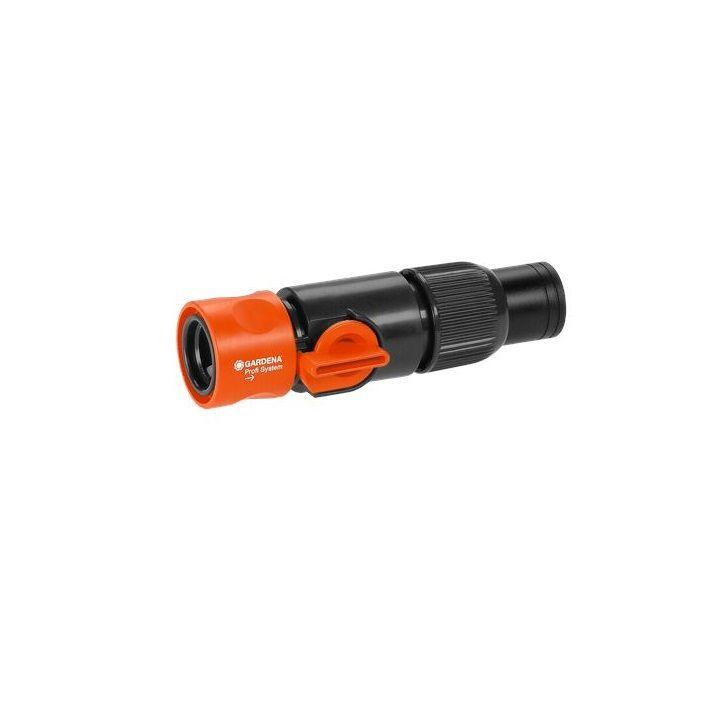 GARDENA PROFI връзка за маркуч с клапан за регулиране