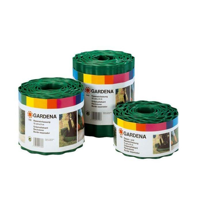 GARDENA Разделител за трева, зелен, 20 см/9 м